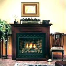 vent free propane fireplace savannah oak 24 in vent free propane gas fireplace logs with remote
