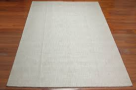 inspiration about 9 12 custom made handmade plain textured area rug carpet ivory with regard