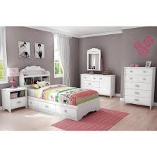 kids storage bed. South Shore Tiara 3-Drawer Pure White Twin-Size Storage Bed Kids Storage Bed