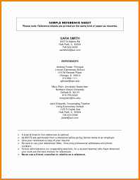 Resume Reference Examples 100 sample references page sap appeal 51