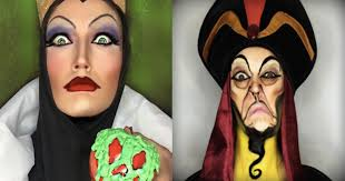 professional makeup artist transforms herself into disney characters bees internet hero someecards fashion beauty