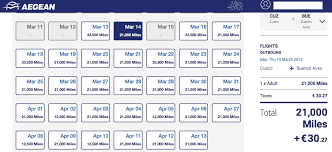 Aegean Airlines Award Chart Save On Flights In South America With Aegean Miles