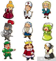 Change Cartoon • To Sticker Medieval Icon People Live We Pixers®