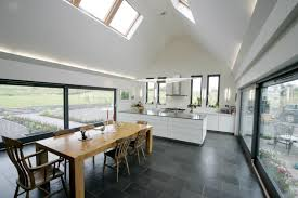 Vaulted Ceiling Kitchen Lighting Open Plan Kitchen Living Room Kitchen With Vaulted Ceiling Homes