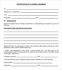 30 Employee Written Warning Template Free Tate Publishing News