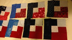 Making A Lather: more boxy stars & ... for my patriotic boxy stars here. I needed 10 more blocks. When I came  home, I had all the quarters together and one flip corner sewn to each  block. Adamdwight.com