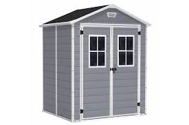 picture of manor 6x5sd outdoor garden storage shed