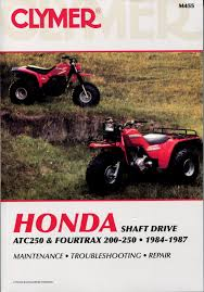 research claynes author claynes page 70 1984 honda trx200 1987 honda trx250 455 455b 455p
