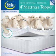 memory foam mattress topper packaging. Memory Foam Mattress Topper Review, 4 Inch Topper, Serta Packaging Maniac