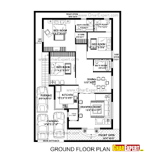 house plan for 40 feet by 60 feet plot with 7 bedrooms homes in