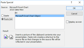 How To Link Excel Data To Powerpoint Chart How To Copy Linked Excel Charts Into Powerpoint