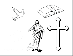 Free Printable Cross Coloring Sheets Stations Of The Pages On