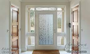 glass front door glass design