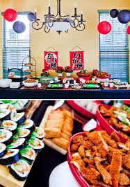 ninja themed boy s birthday party food ideas with a anese twist
