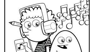 Music Coloring Pages Notes For Adults Pdf Sheets Kids At Free