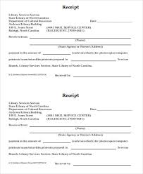 Reciept For Cash 7 Sample Cash Payment Receipt Free Sample Example Format Download