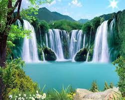 Landscape Wallpaper Waterfall - Popular ...