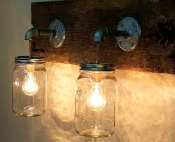 Inspiring Diy Mason Jar Lights Fixtures Us Lighting Made From Pallets Light  Fixture