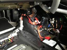 f30 aftermarket subwoofer install on hk system the hk unit is located on the left side of the trunk that large bundle of wires terminates in the plug that technic s harness will connect to
