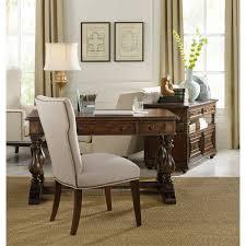 Hooker Furniture 5138 Turnbridge 54 Trestle Writing Desk in