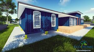 Ecohome Design Sch9 8 X 40ft Container House Andejong Design