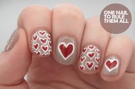 60+ Latest Red Heart Nail Art Design Ideas