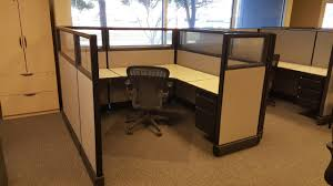 Used Herman Miller glass Cubicles