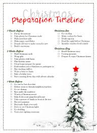 Christmas Preparation Checklist Christmas Preparation Timeline [by Laurel Smith] The DIY Lighthouse 1