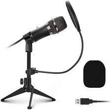 EIVOTOR PC USB Mikrofon Desktop Computer Microphone mit Verstellbares  Stativ Plug & Play Aufnahme Mikrofon Laptop Mikros für  PS4,Präsentationen,Discord,YouTube,Skype,Podcast,Konferenz,Windows,Linux:  Amazon.de: Computer & Zubehör