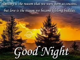 Good Night Wishes For Cousin Good Night Pictures Wishgoodnightcom
