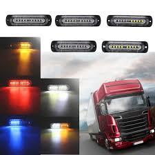 Led Car Signal Lights 12v 24v 10 Led Car Side Marker Lights Indicator Signal Strobe Lamp Universal For Truck Trailer