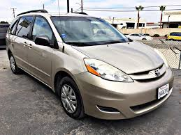used 2006 toyota sienna in garden grove california u save auto auction garden