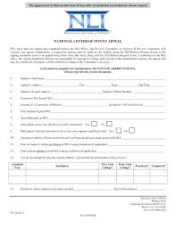 Letter Of Intent Sample Academic Nursing School Example Template ...