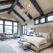 master bedroom. Like The Dark Beams .with White Ceiling For Family Room Master Bedroom Paint Color - Benjamin Moore Pale Oak. S
