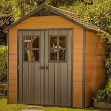 choose wooden metal or plastic shed