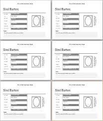 Employee Profile Sample Employee Profile Template Free Download