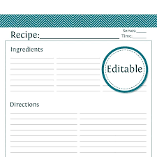 printable blank recipe cards free printable blank recipe cards 4 x 6 card template word simple