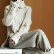 <b>LHZSYY Autumn</b> Winter New Women's Pure <b>Cashmere Sweater</b> ...