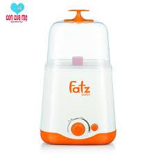 BH 1 năm] Máy hâm sữa và tiệt trùng 2 bình cổ rộng thế hệ mới Fatz Baby  FB3012SL, Giá tháng 11/2020