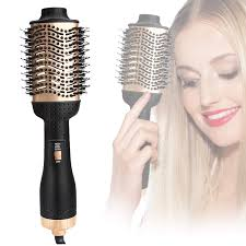 Mekuula Haartrockner Warmluftbürste Haarglätter Bürste One Step 3 In 1 Hair Dryer Volumizer Anti Verbrühen Warmluft Und Volumenbürste Negativ