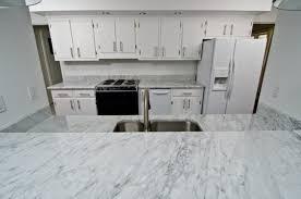 image of italian carrara white marble countertop