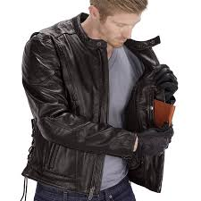 viking cycle warrior leather motorcycle jacket for men