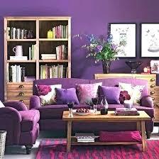 gray brown purple yellow living room