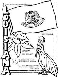 Small Picture Louisiana coloring page One for each state Use in your
