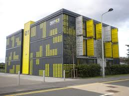 container office building. Container Building At Dundee . Office