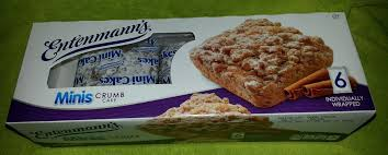 Entenmanns Minis Crumb Cake 6 Individually Wrapped Mini Crumb