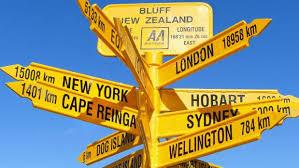 Bluff Sign Bluff Kiwi Icons Info Way Off Track Stuff Co Nz