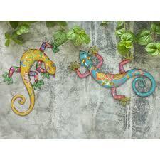 Solar Light Gecko Wall Art Cheap Garden And Patio Decor Find Garden And Patio Decor