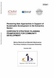 strategic planning frameworks corporate strategic planning frameworks for community development