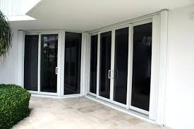 hurricane sliding glass doors custom accordion shutters open hurricane impact sliding glass doors s